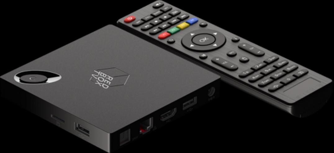 Android-IPTV-Box UHD (4K) HDR H265 Wifi 2xUSB HDMI Android TV Box