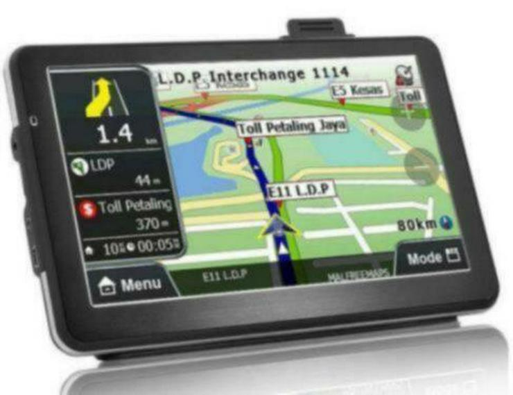 LKW, 7 Zoll, Navi Navigation Auto GPS Navigationsgerät EU Karten