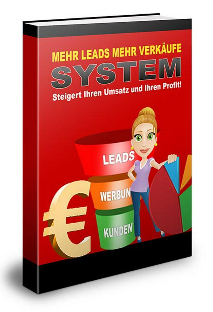"ebook ""Mehr Leads mehr Verkäufe"" PLR Komplett Paket"