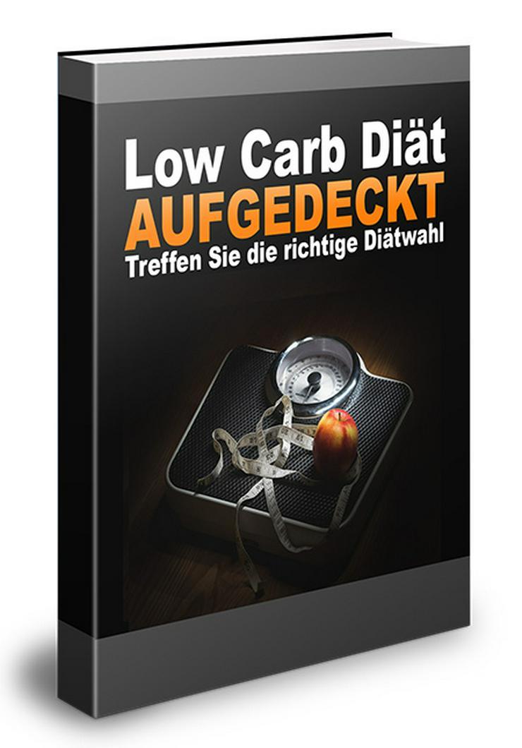 "ebook ""Low Carb Diät"" PLR Komplett Paket"