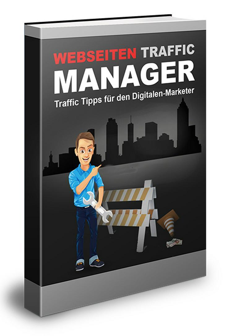 """ebook """"Webseiten Traffic Manager"""" PLR Komplett Paket"""
