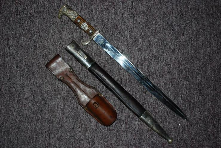 Original Seitengewehr/Bajonett aus Wk2, Alcoso Solingen
