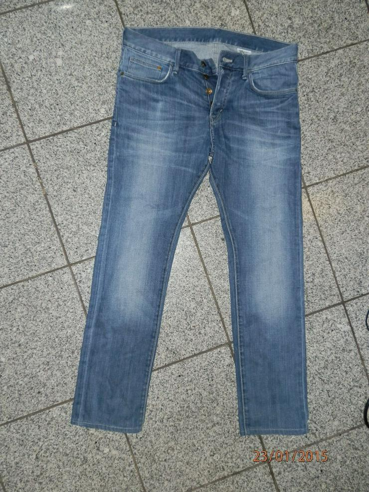 H&M Slim Jeans - 32/32 - Blue Wash
