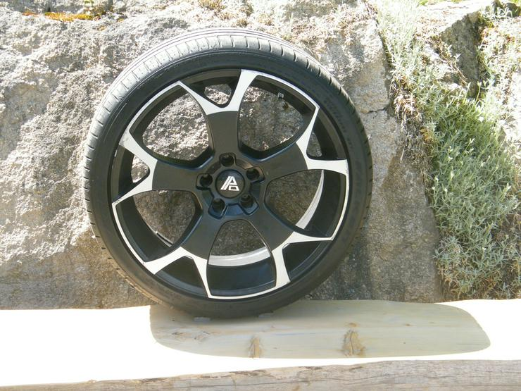 20 Zoll Alufelgen mit SR 8,5J x 20 EH 2 für Jeep Compass u. Mitsubishi Outlander