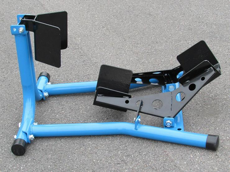 Bild 6: Anhängervermietung Motorradanhänger 1-2 Bikes absenkbar ab
