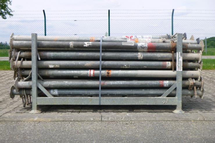 50 St. Stahlsprieß Stützen Baustützen Hünnebeck NOE D20/350 Schalung Deckenschalung - Paket Nr.63