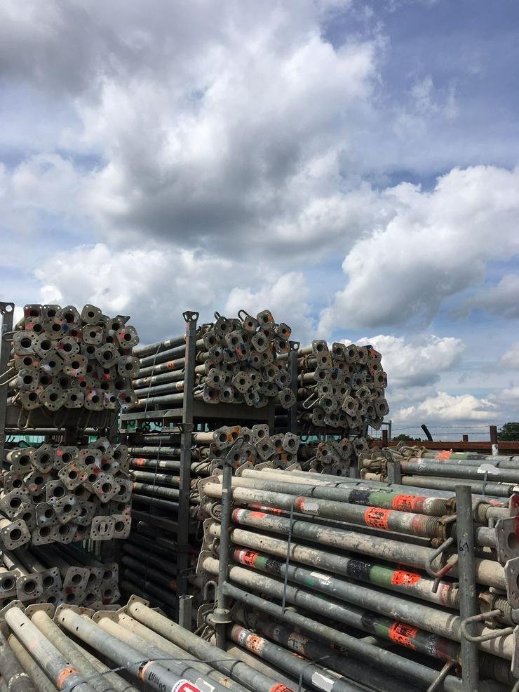 über 350 St. NOE Baustützen Deckenstützen Stahlsprieße 3,50m D35 für Deckenschalung