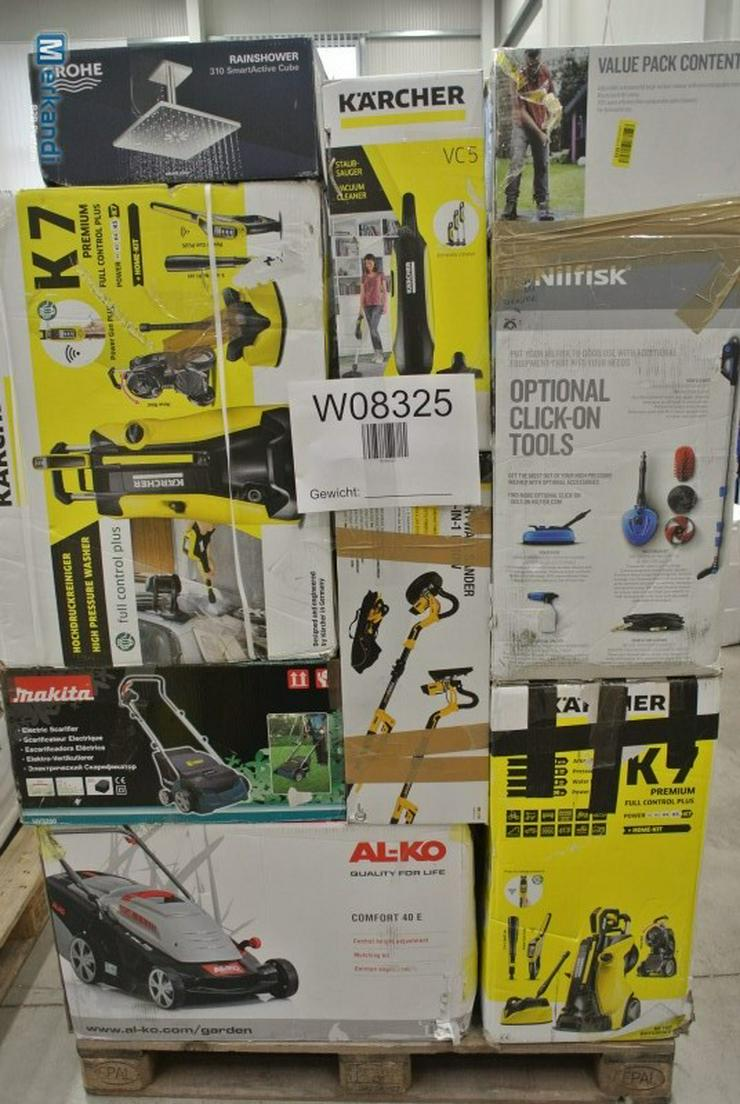 ELEKTROWERKZEUGE B-ware Paletten Bosch, Black & Decker, Makita