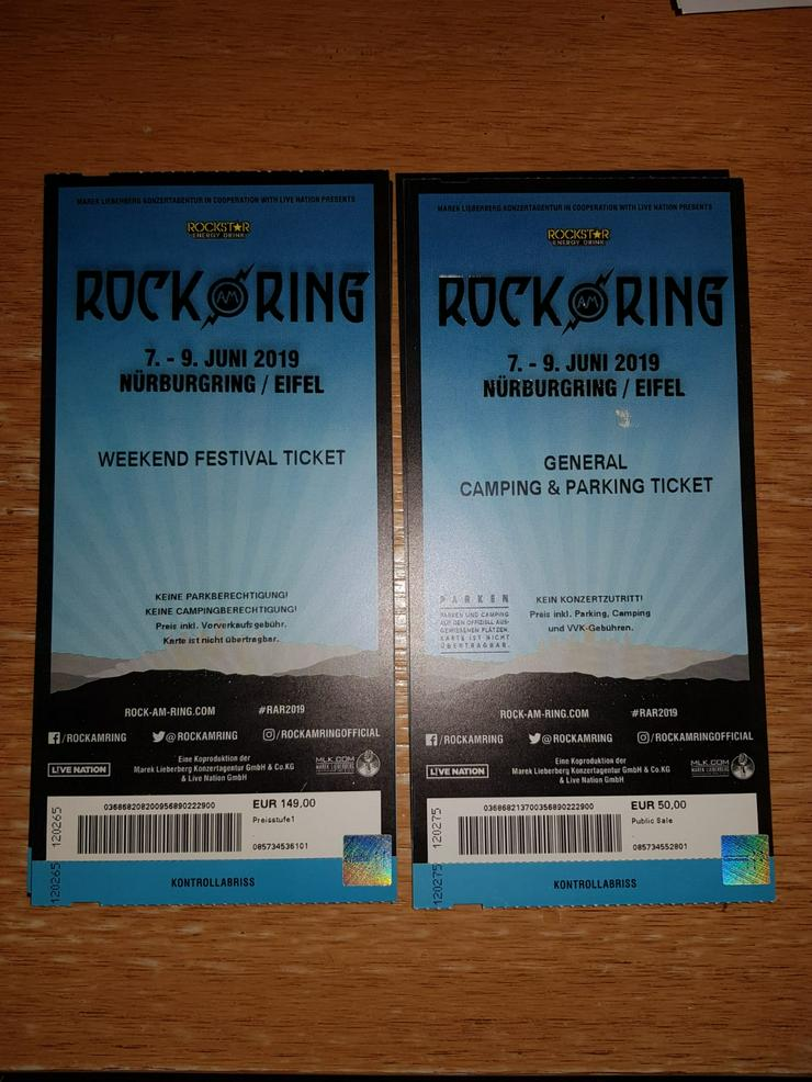 Rock am Ring Weekend Festival + General Camping - Festivals - Bild 1