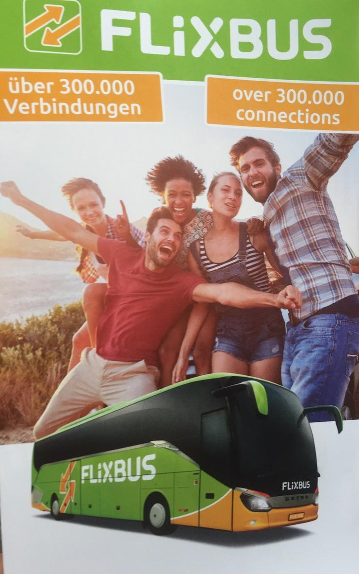 Verkaufe FlixBus Gutschein a EUR 48 für EUR 38, Gültig bis Mai 2020