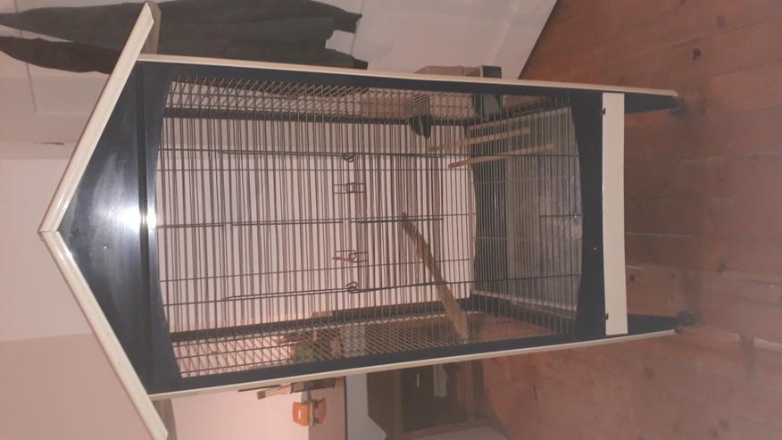 Bild 2: Vogelvoliere