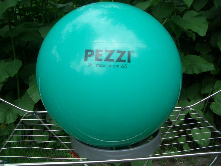 Original Pezziball® türkis ø 65 cm mit Ballschale