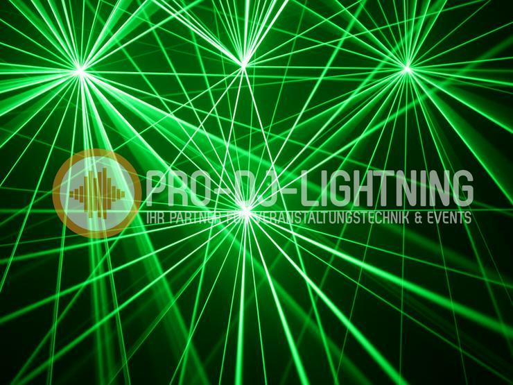 Showlaser - 6w RGB Laser - Bühnenlicht - Laseranlage - mieten