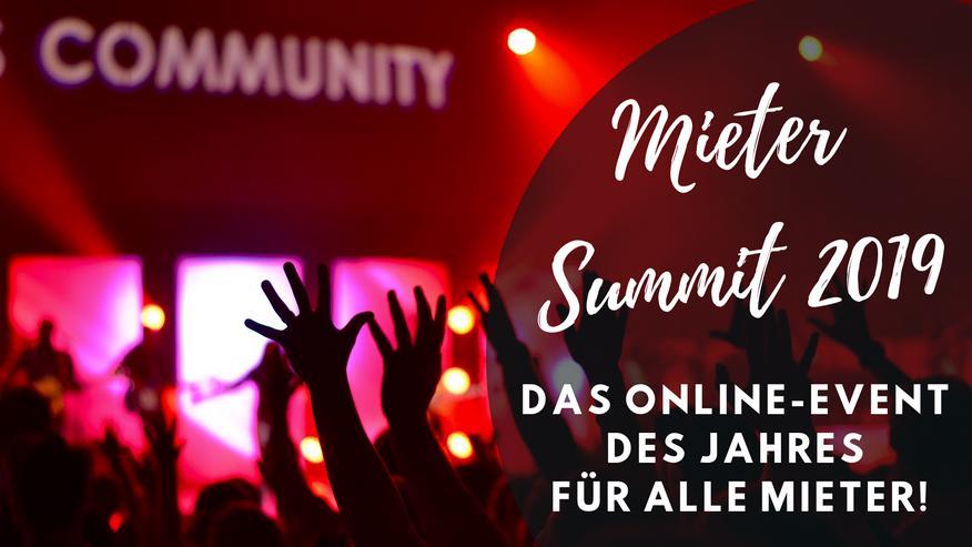 Wohnungssuche München - Einladung zum Mieter-Summit