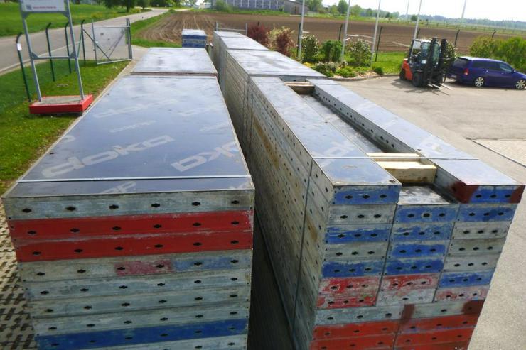 205m² Doka Frami Bauschalung Fundamentschalung Schalung mit Zubehör guter Zustand