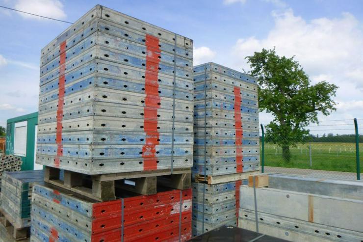 85m² Doka Frami Schalung Handschalung Mauerschalung Tafeln Elemente mit Zubehör