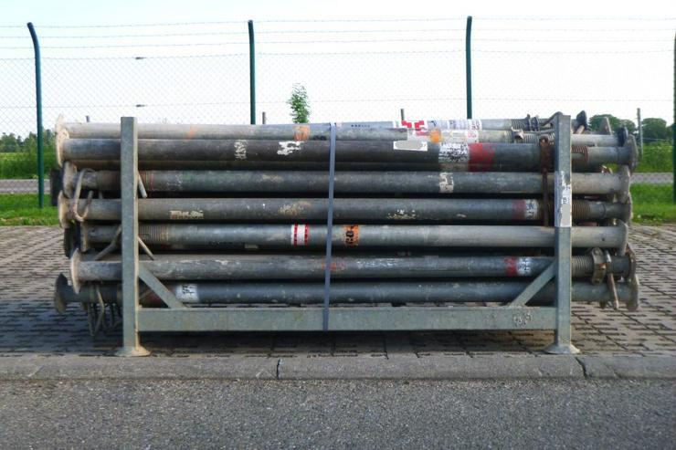 50 St. Deckenstützen Baustützen Stützen Doka Noe Hünnebeck 3,50m - Paket Nr. 64