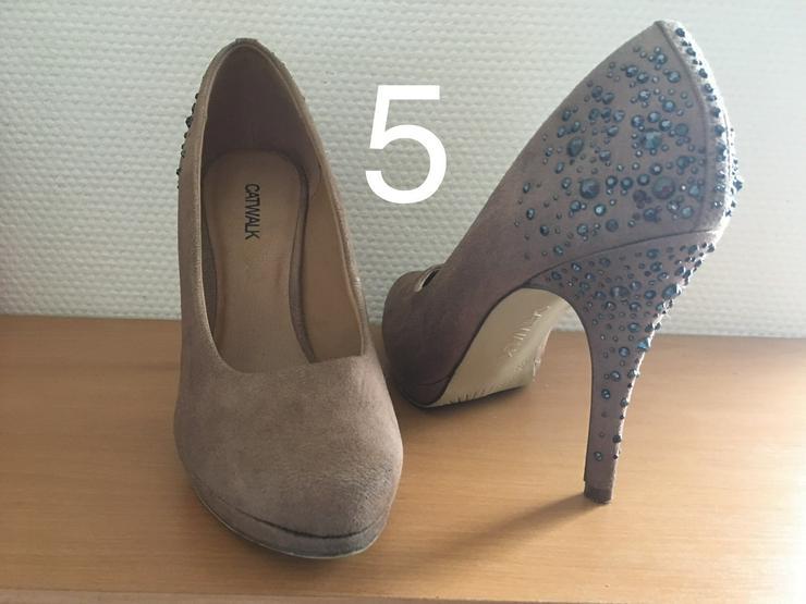 Bild 5: Damen Schuhe,Pumps,Clogs,Holz Latschen,gebraucht jedoch neuwertig und neu.