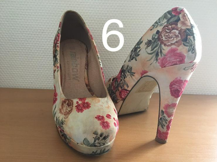 Bild 6: Damen Schuhe,Pumps,Clogs,Holz Latschen,gebraucht jedoch neuwertig und neu.