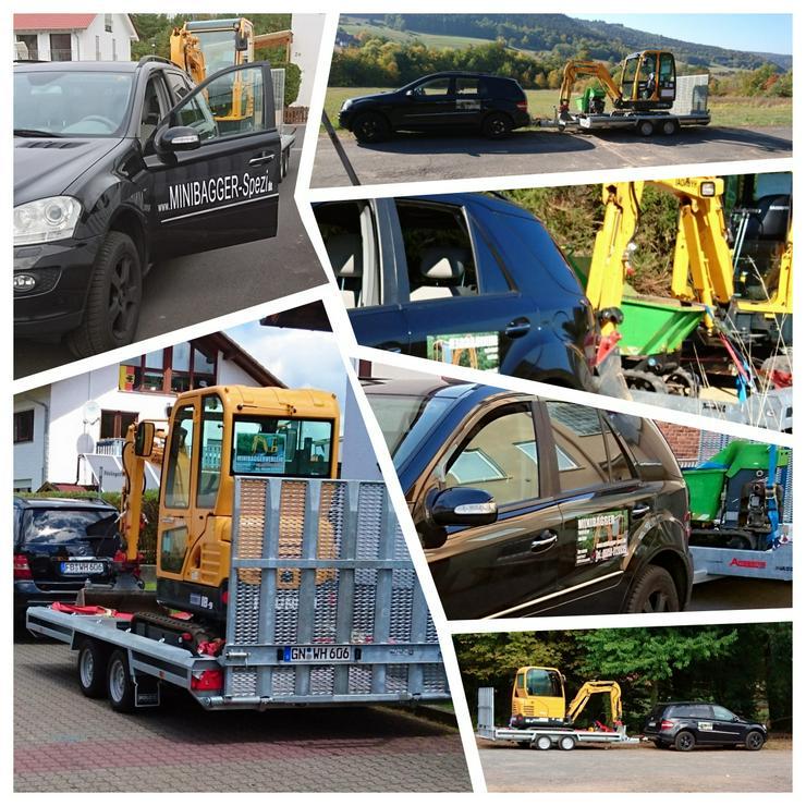 Bild 10: Minibagger mit und ohne Fahrer zu Miete ~~  Minibagger-Spezi  ~~