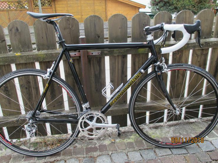 Cannondale CAAD2 mit Campa Record - Rennräder & Triathlonräder - Bild 1