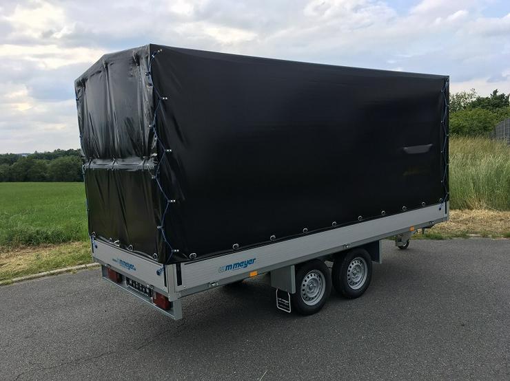 Bild 3: WM – Meyer 2000 kg Anhänger Hochlader in 410 cm mit Hochplane