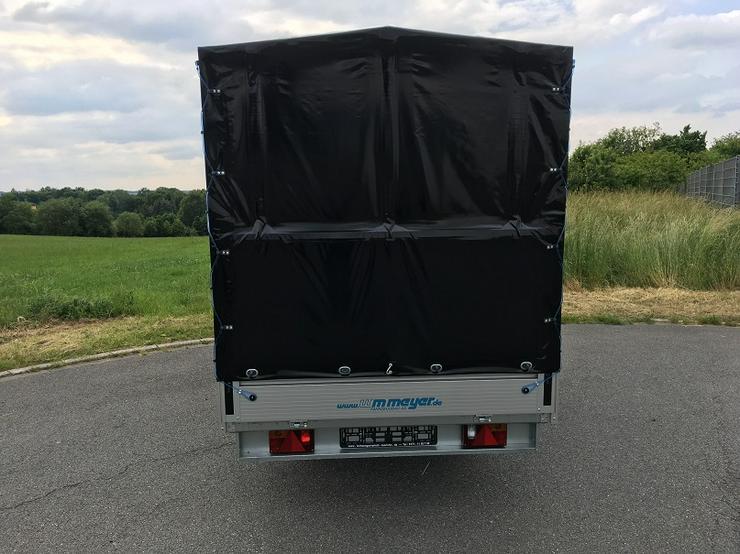 Bild 4: WM – Meyer 2000 kg Anhänger Hochlader in 410 cm mit Hochplane