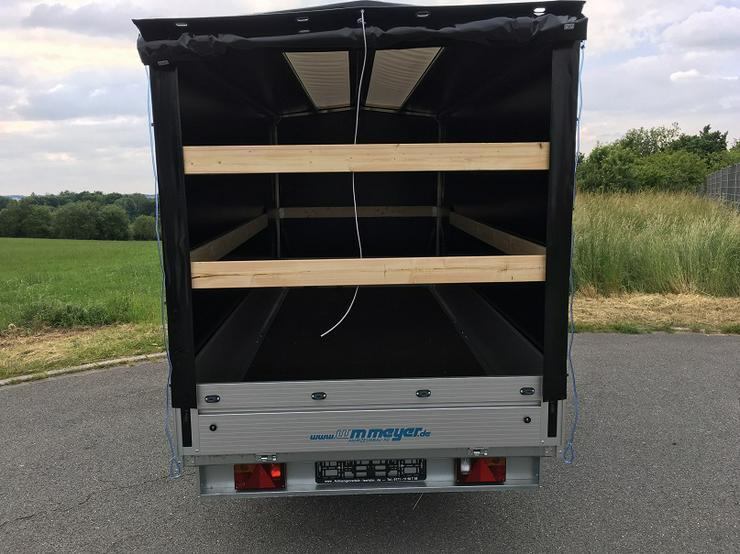 Bild 5: WM – Meyer 2000 kg Anhänger Hochlader in 410 cm mit Hochplane