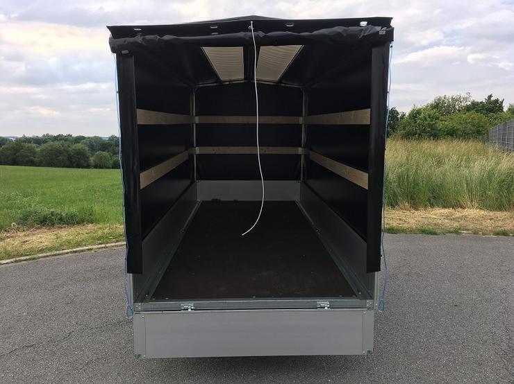 Bild 6: WM – Meyer 2000 kg Anhänger Hochlader in 410 cm mit Hochplane