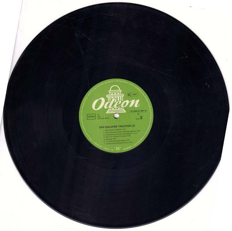 Bild 4: Schallplatte Vinyl 12'' LP - Der goldene Trichter (2)