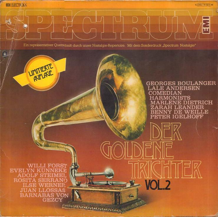 Schallplatte Vinyl 12'' LP - Der goldene Trichter (2) - LPs & Schallplatten - Bild 1