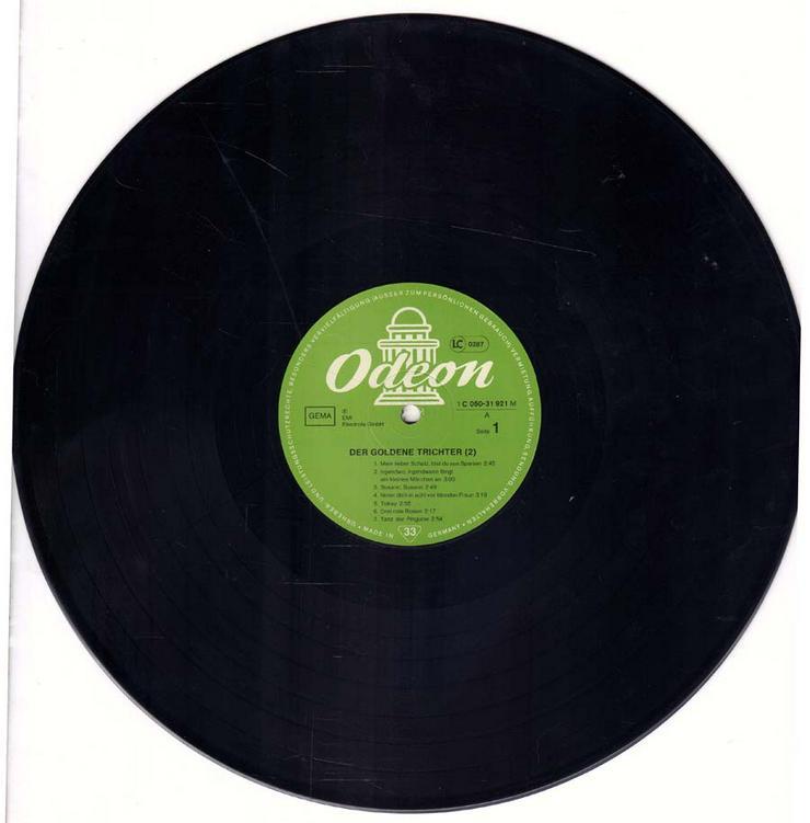 Bild 3: Schallplatte Vinyl 12'' LP - Der goldene Trichter (2)