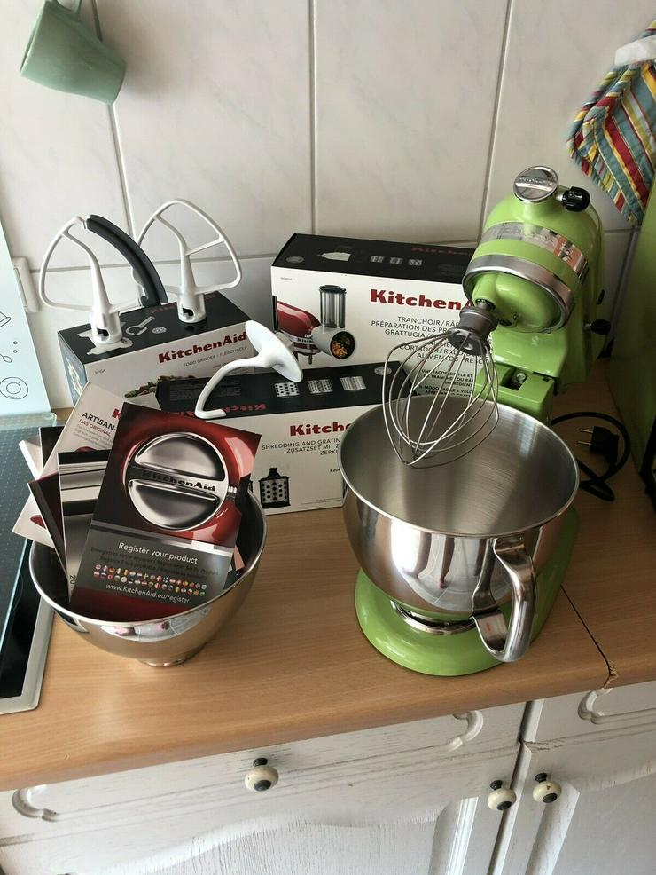 Kitchen Aid Artisan Apfelgrün
