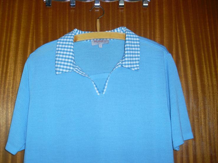 biggest discount ccc89 8210a Damen Pullover kurzarm Gr. M/L in türkis von ADLER Moden wie ...