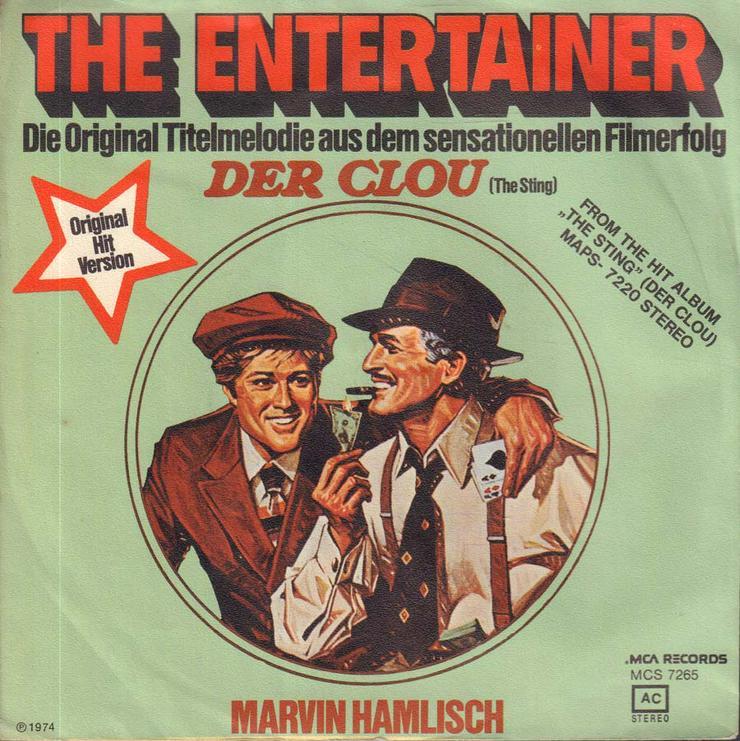 Schallplatte Vinyl 7'' Single - Filmmusik aus Der Clou - The Enterainer / Solace - LPs & Schallplatten - Bild 1