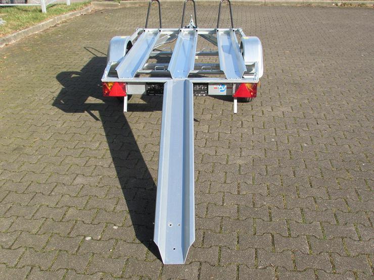 Bild 3: Anhängerverleih Motorradanhänger 750 kg Anhängervermietung ab