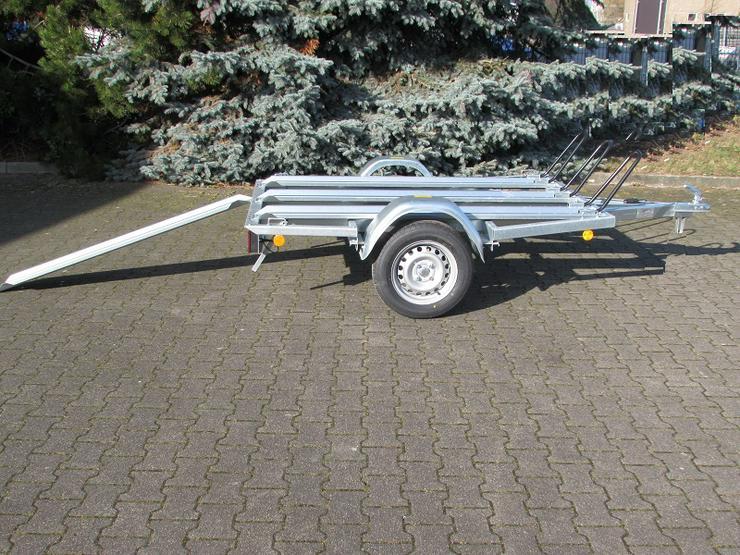 Bild 2: Anhängerverleih Motorradanhänger 750 kg Anhängervermietung ab