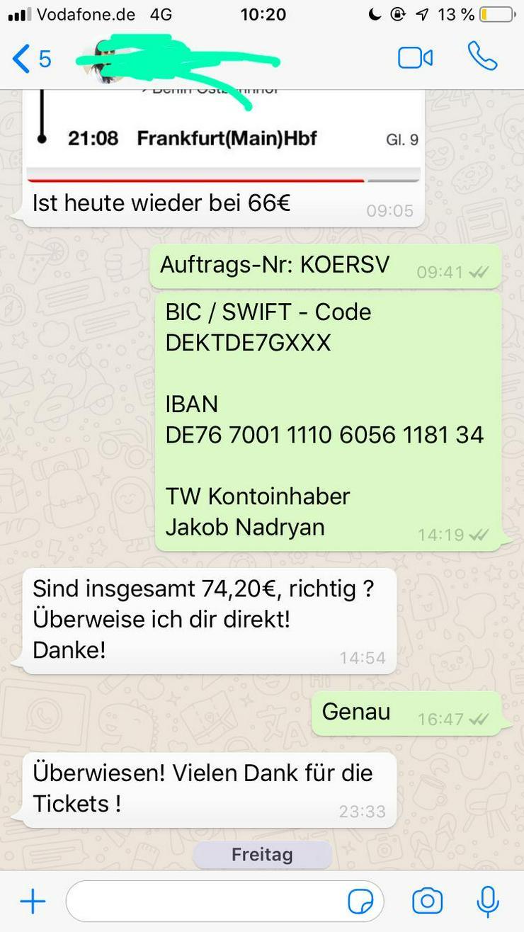 Bild 2: Deutsche Bahn Gutscheine - 50% Rabatt auf alle Fahrten