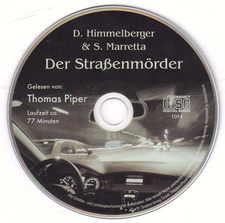 Hörbuch 1 CD - Der Straßenmörder - von D. Himmelberger & S. Marrella - 77 min