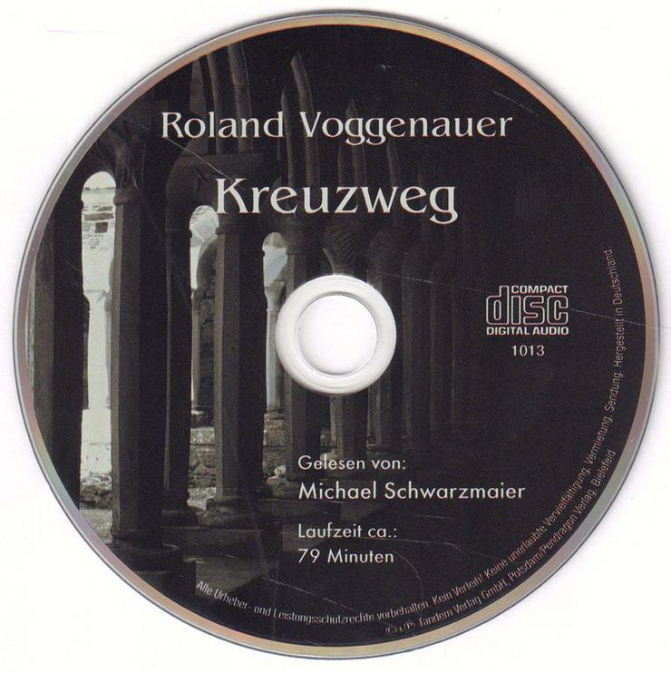 Hörbuch 1 CD - Kreuzweg - von Roland Voggenauer - Laufzeit ca. 79 min