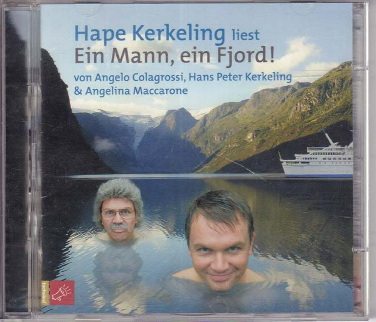 Hörbuch 2 CDs - Hape Kerkeling - Ein Mann, ein Fjord! - Colagrossi & Kerkeling