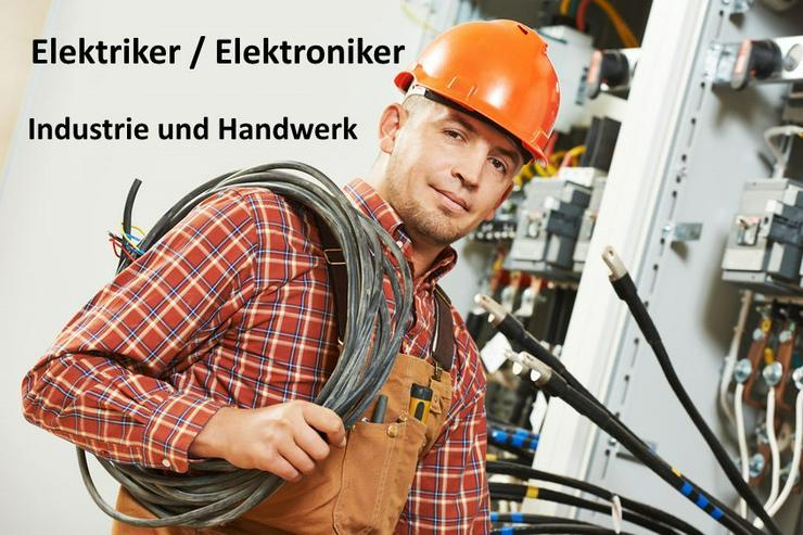 Elektriker/Elektroniker Betriebstechnik (m/w/d) unbefristet!