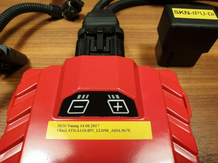 SKN Chiptuning Box (IPU Hardware) - Skoda Octavia III (5E) 1.4 TSI (110kW/150PS) +22kW/30PS +58Nm