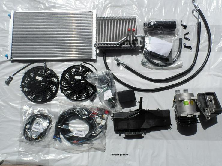 Motorklimaanlage Klimaanlage Nachrüstkit Mercedes Sprinter 906 Wohnmobil Camper Nachrüstsatz Klima Halle