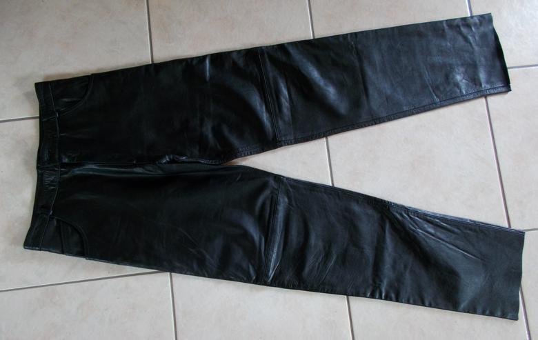 Lederhose in Größe 34 - Hosen - Bild 1