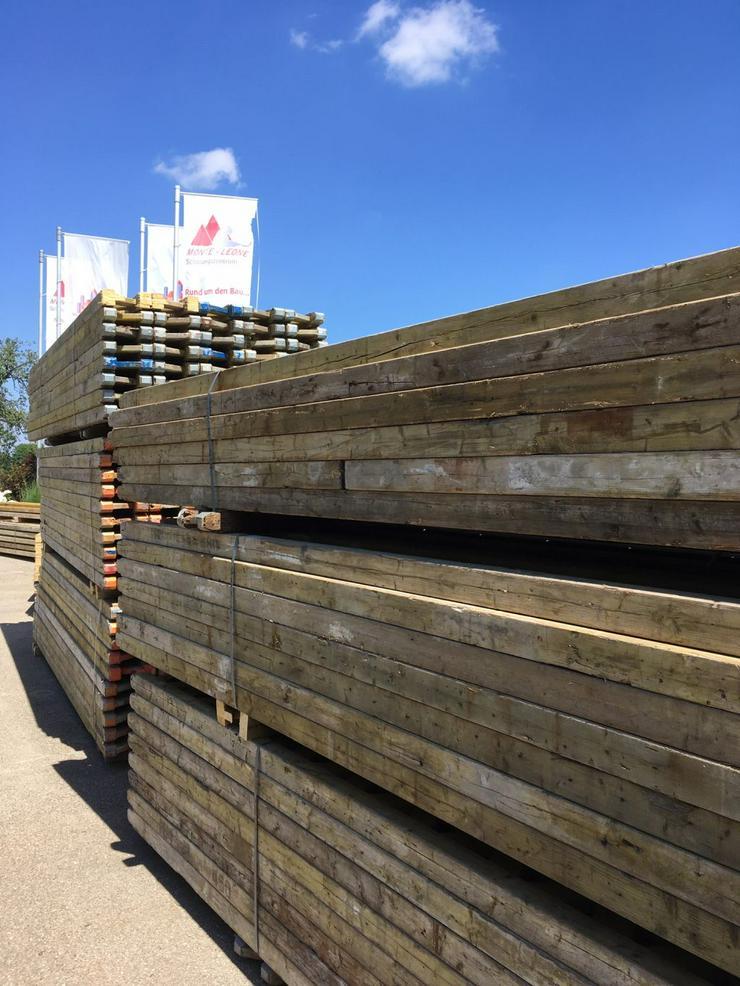 über 1.100lfm Peri GT24 Gitterträger Schalungsträger Holzträger für Deckenschalung