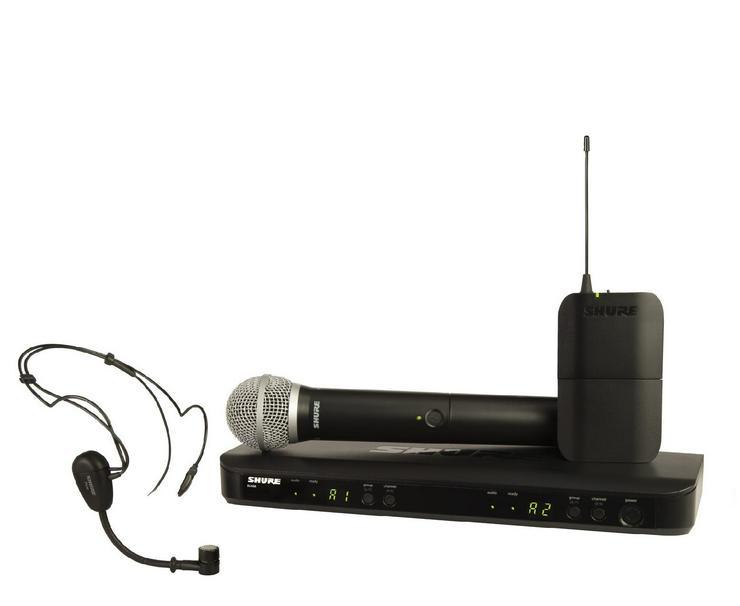 Verleih Shure BLX1288E/PG30 T11 Funkmikrofon System I Mikrofon
