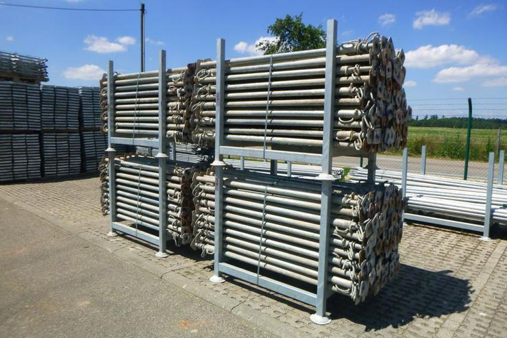 700 St. Sten Stützen 3m Baustützen Deckenstützen Steher Sprieße