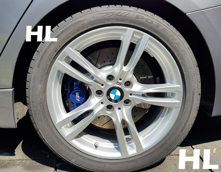 """Original BMW M Sport Sommerkompletträder - BMW M400 M 18"""" SILBER"""