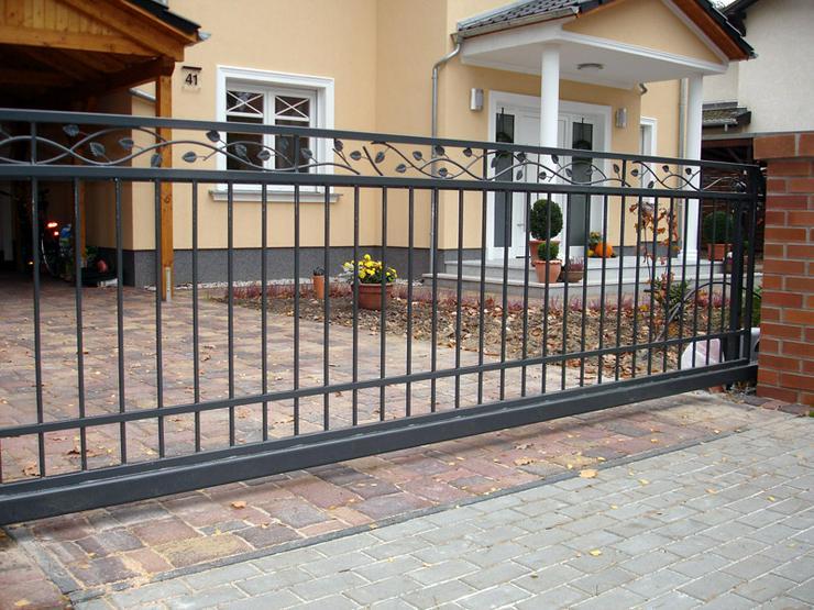 Bild 5: Zäune - Toranlagen - Metall -Tore - Geländer beste Preise
